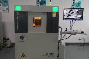 Máy x ray Unicomp AX9100 kiểm tra chất lượng bảng mạch mới sản xuất